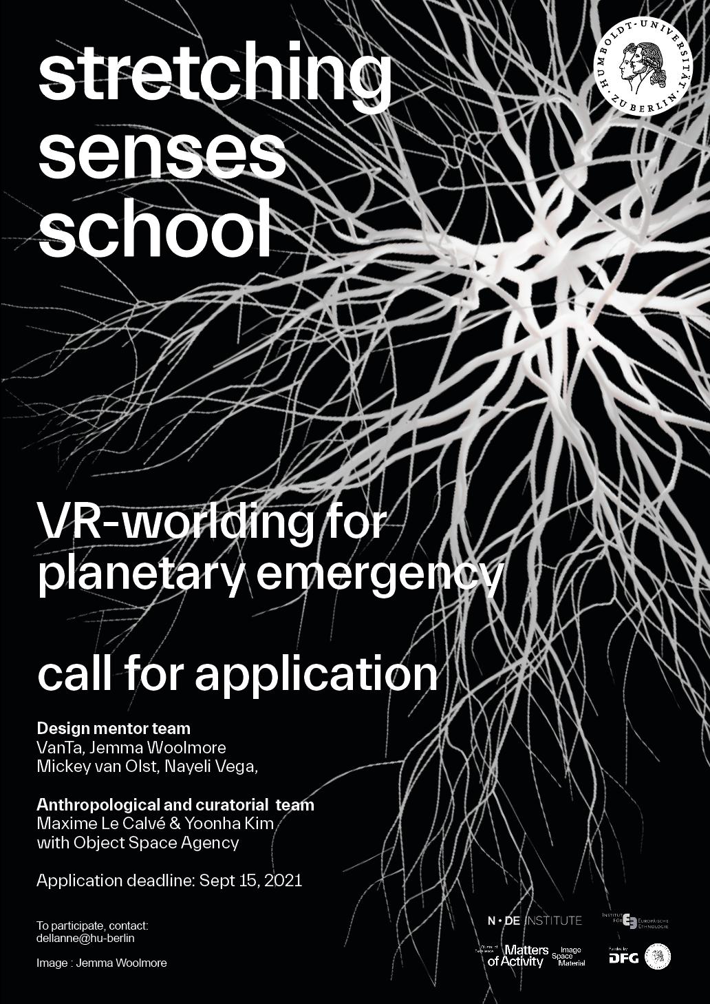 stretching senses school poster